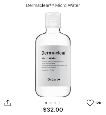 Micellar Water by Dr. Jart