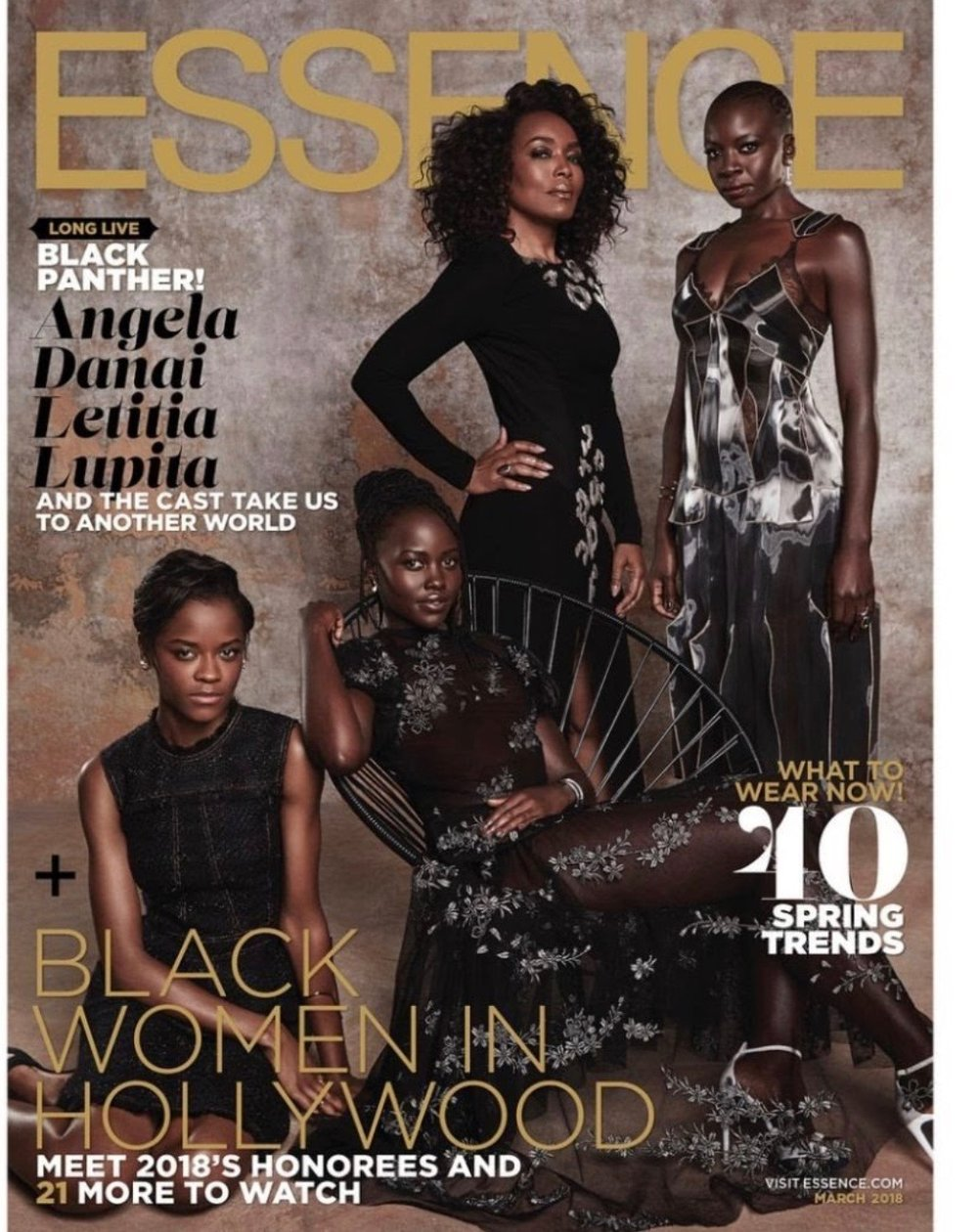 The BEAUTIFUL BLACK women in the Black Panther movie are fierce!  Black women are represented as strong and expected to be strong and relied on.  This is normal! Not unusual, threatnening or challenging to the strong black LEADERS, men.