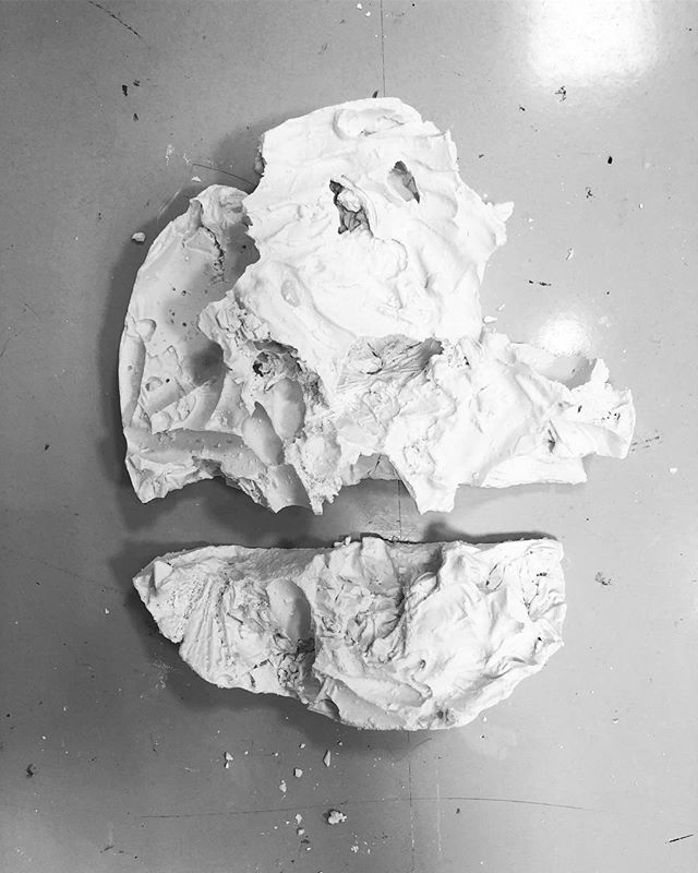 Today's outcomes from my workshop today with @cc_theworks at @qatarartcenter ... great turn out! Thanks for those that came! #ceramic #casting #workshop #cctheworks #process #techniques #alexandraoddie #experimentation