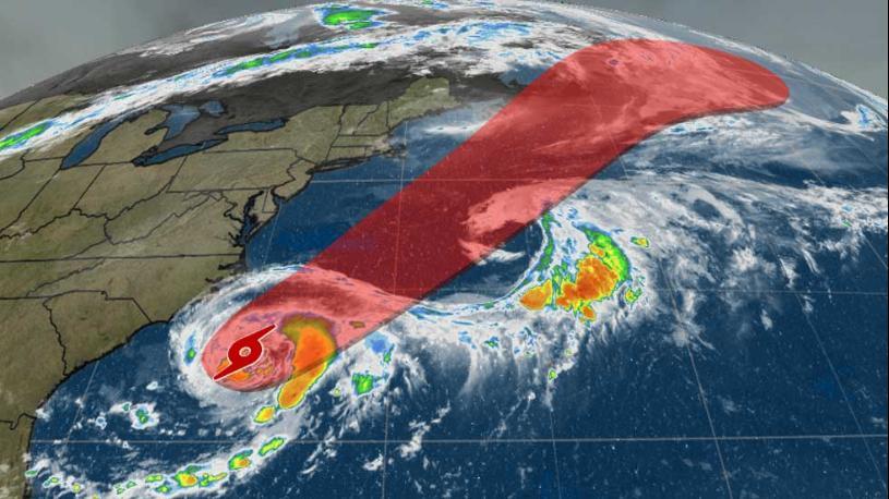 """Regn i sikte eller bare luftspeiling?  """"Chris"""" - tropisk storm som ikke vil gå på land i USA, men kanskje ta ruta nordover de neste dagene som de fleste i orkanfamilien fra Karibien. Deretter østover. Det er meldt kraftig regn den 17.-18. juli her hjemme på berget - på de tørreste stedene. Mistenker """"Chris"""". Never mind. Regn er regn"""