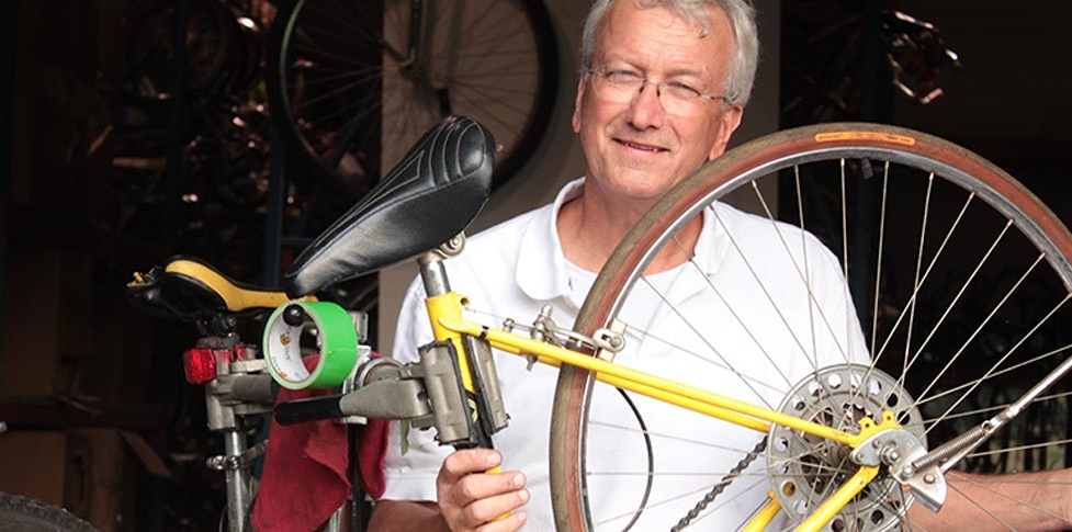 Our story - Chuck Graeb, founder of Bikes for Kids, discovered retirement offered him the perfect opportunity to fulfill his lifelong wish of providing bicycles to children in need.