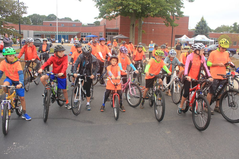 Bikes for Kids' Sunday, Oct. 1 family rides meets at Essex Town Hall.