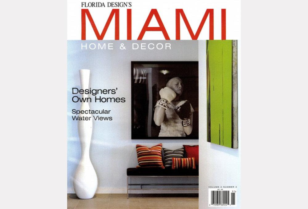 Miami Home Decor Volume 4 Issue