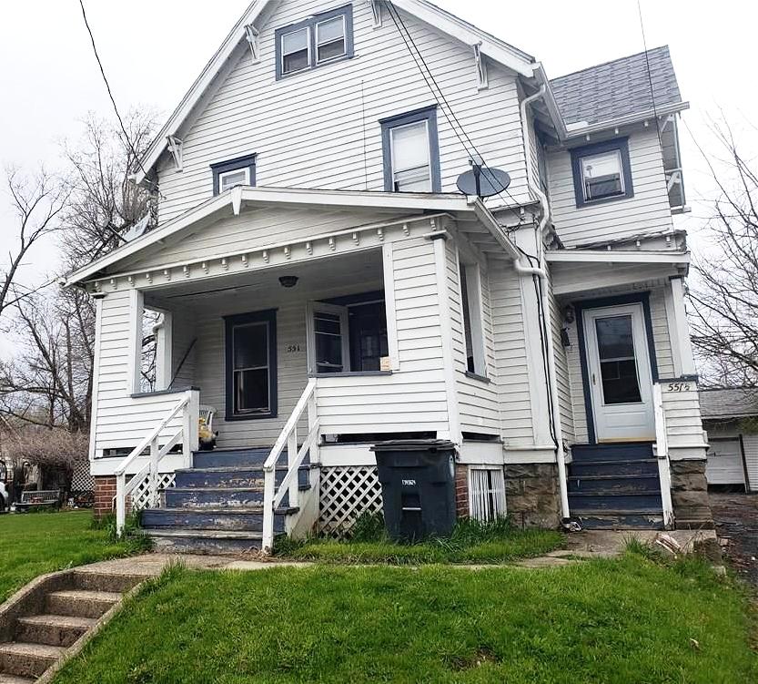 551 Baird St., Akron | 4 bed 2 bath | 1,540 Sq. Ft. | $20,100