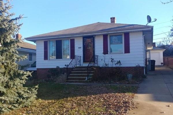 11420 Hempstead, Garfield Hts.  3 bed 1 bath | 1,074 Sq. Ft. $45,000