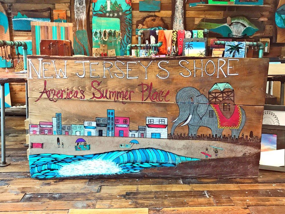 "Margate, NJ Realtor Office Sign        ""America's Summer Place"""