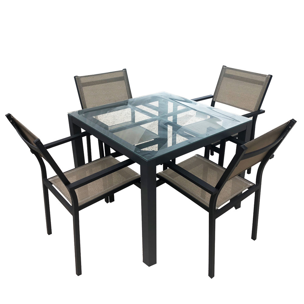 Superbe Four Top Table Set