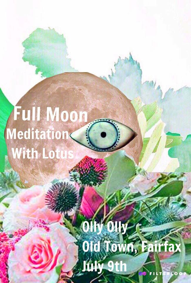 Full Moon Meditation July 9th