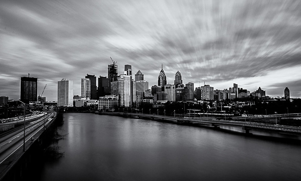 Philadelphia Skyline (South Street Bridge)