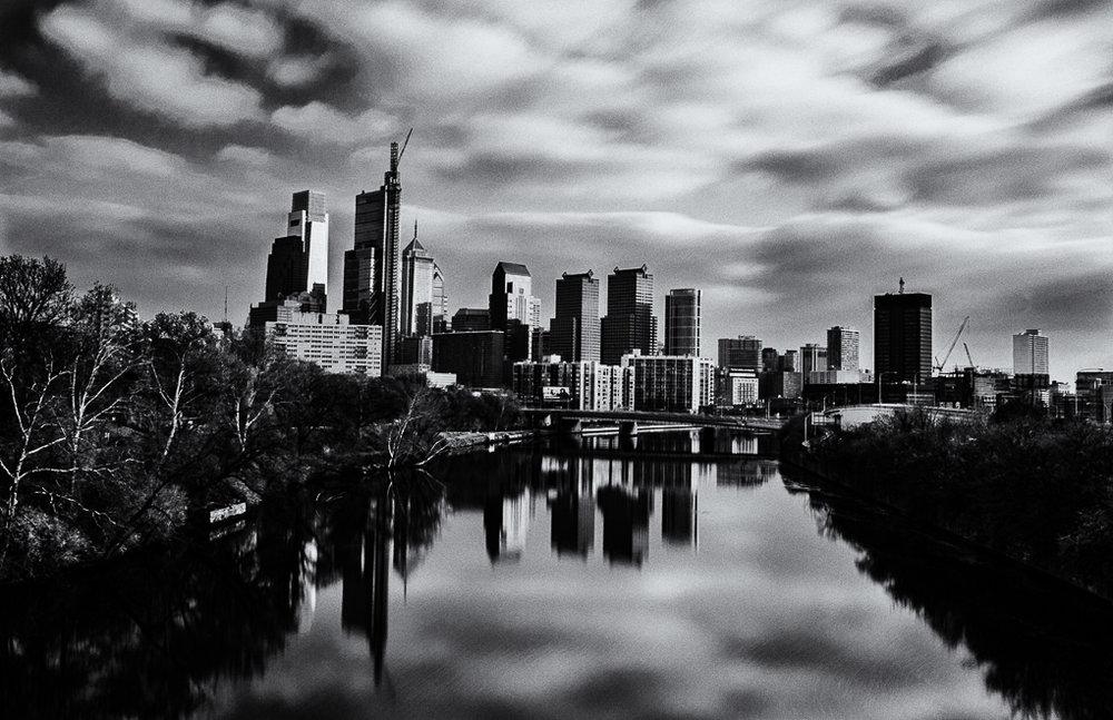 Philadelphia Skyline (Spring Garden St. Bridge)