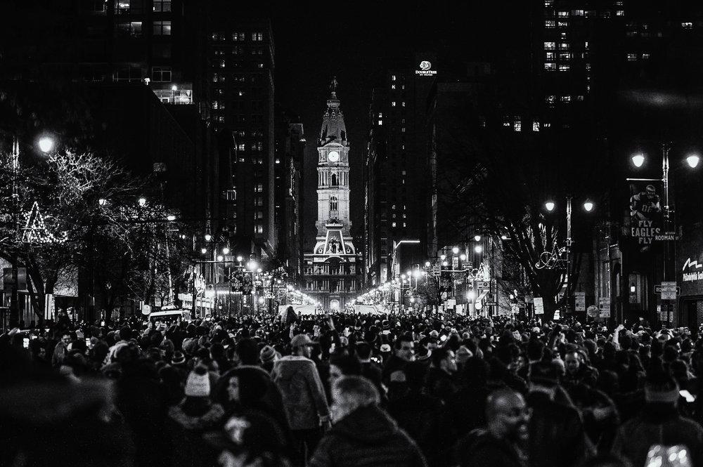 Super Bowl Sunday, Philadelphia