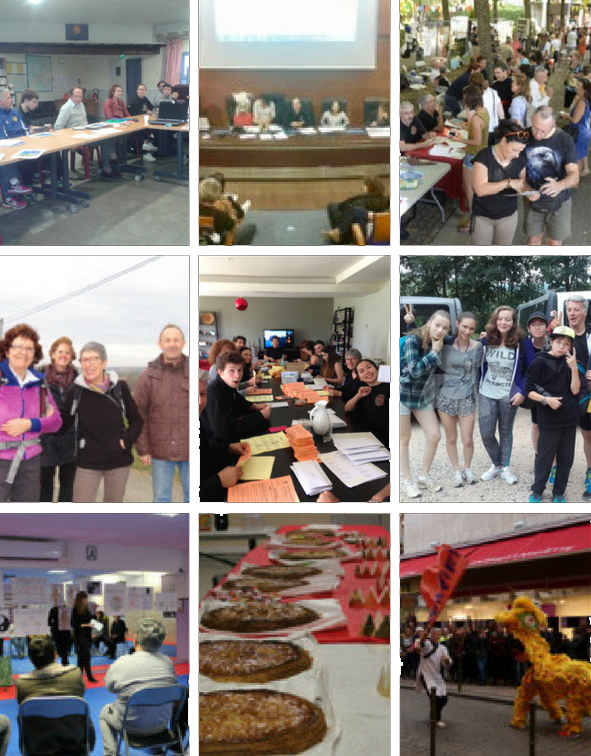 Une vie associativeriche ! - Activités conviviales,Actions solidaires, Bénévolat, Accompagnement professionnel, etc.En savoir plus