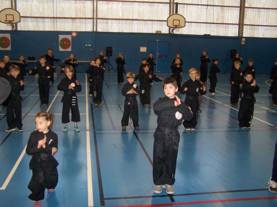 enfants arts martiaux