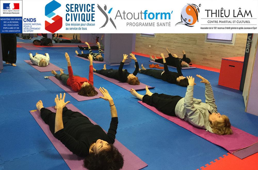 Cours de Stretching Zen du Centre Thiêu Lâm à Blagnac