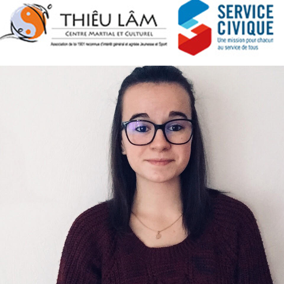 Marie Castillo, service civique au Centre Thiêu Lâm.
