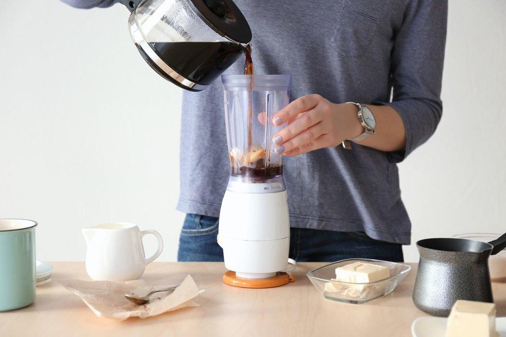 Préparez le matin un café au beurre