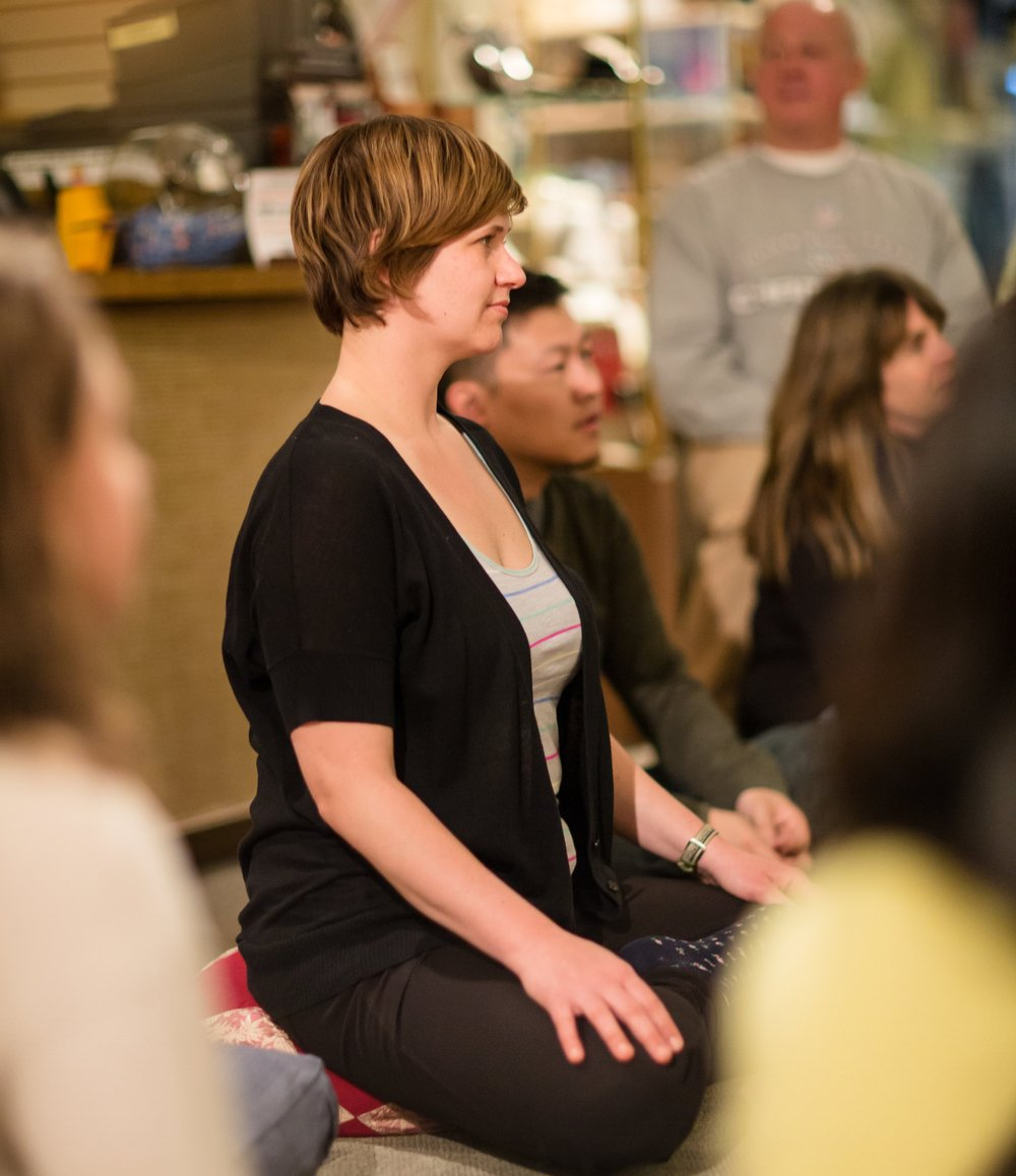 Interested in learning Meditation? - Beginners can choose to start with either our free Community Meditation Nights or the more structured Meditation Toolbox course...   Learn More