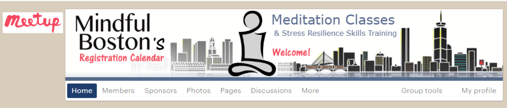 meditation classes at meetup