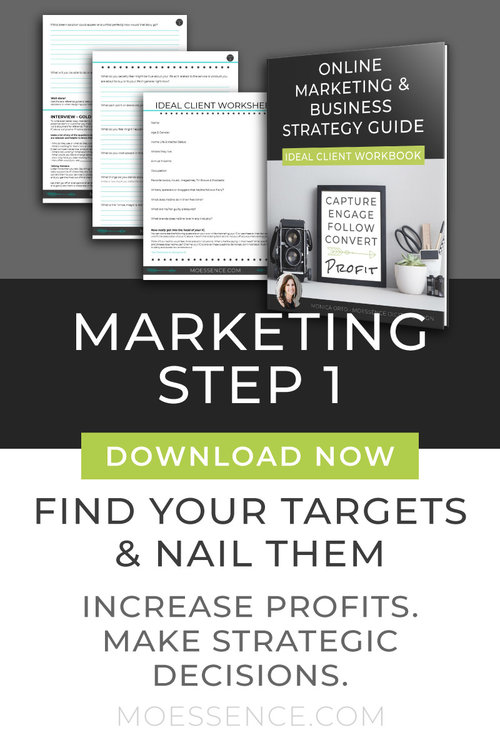 HOW TO GET MORE CLIENTS • Free Workbook Download - Online Marketing Step One