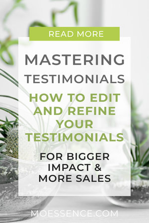 MASTERING TESTIMONIALS • 4 Step Guide to more Revenue + Free Email Templates You're going to learn  • Why You Need Great Testimonials • How to Get Great Testimonials – with free copy and paste email messages • How to Edit & Refine Your Testimonials For Bigger Impact • Where to Use Testimonials – 10 More places they need to go other than your website  + Plus Free Email Template Copy