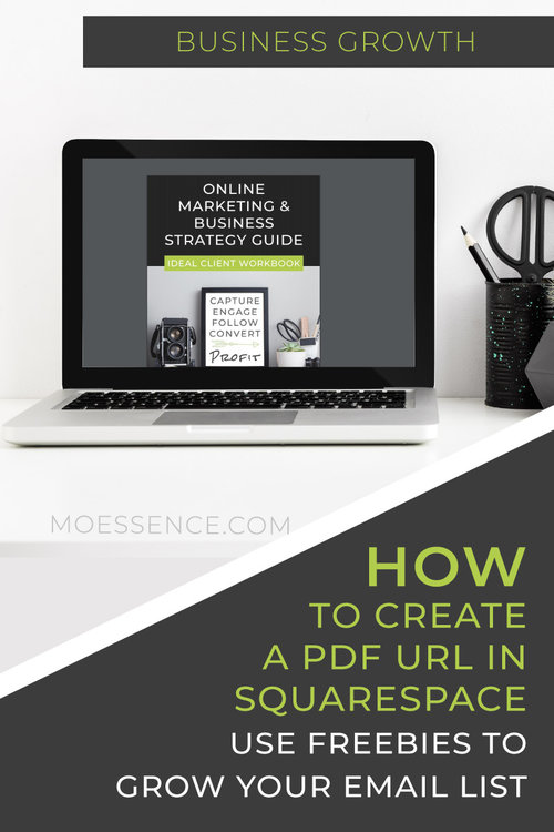 HOW TO EMBED A PDF TO SQUARESPACE • Grow Your Email List with a Lead Magnet What you'll learn: - How to insert a document into Squarespace by uploading a PDF file. - How to create a URL for a Opt-In Freebie. - How to include a Lead Magnet for an email opt-in. - How to link your PDF URL to an email campaign