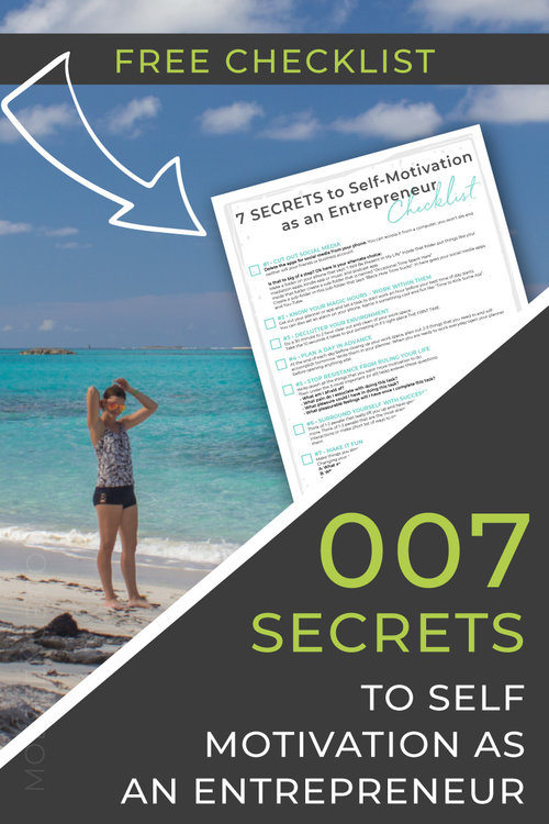 7 SECRETS to Self-Motivation as an Entrepreneur • Simple Ways to Stay Motivated Are you asking yourself: - How do I get and stay motivated? - What is holding me back? - How do I motivate myself?  How my fear turned me into a Motivation Master and my 7 Simple Secrets for you to become one too. + DOWNLOAD YOUR FREE CHECKLIST
