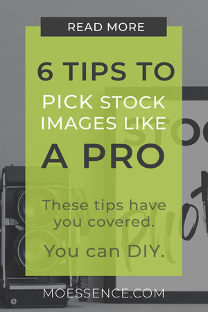 6 TIPS • Pick the Right Stock Photos For Your Website These 6 tips have you covered. When you know what works, and what to watch out for, you can DIY with stock photos. I promise.