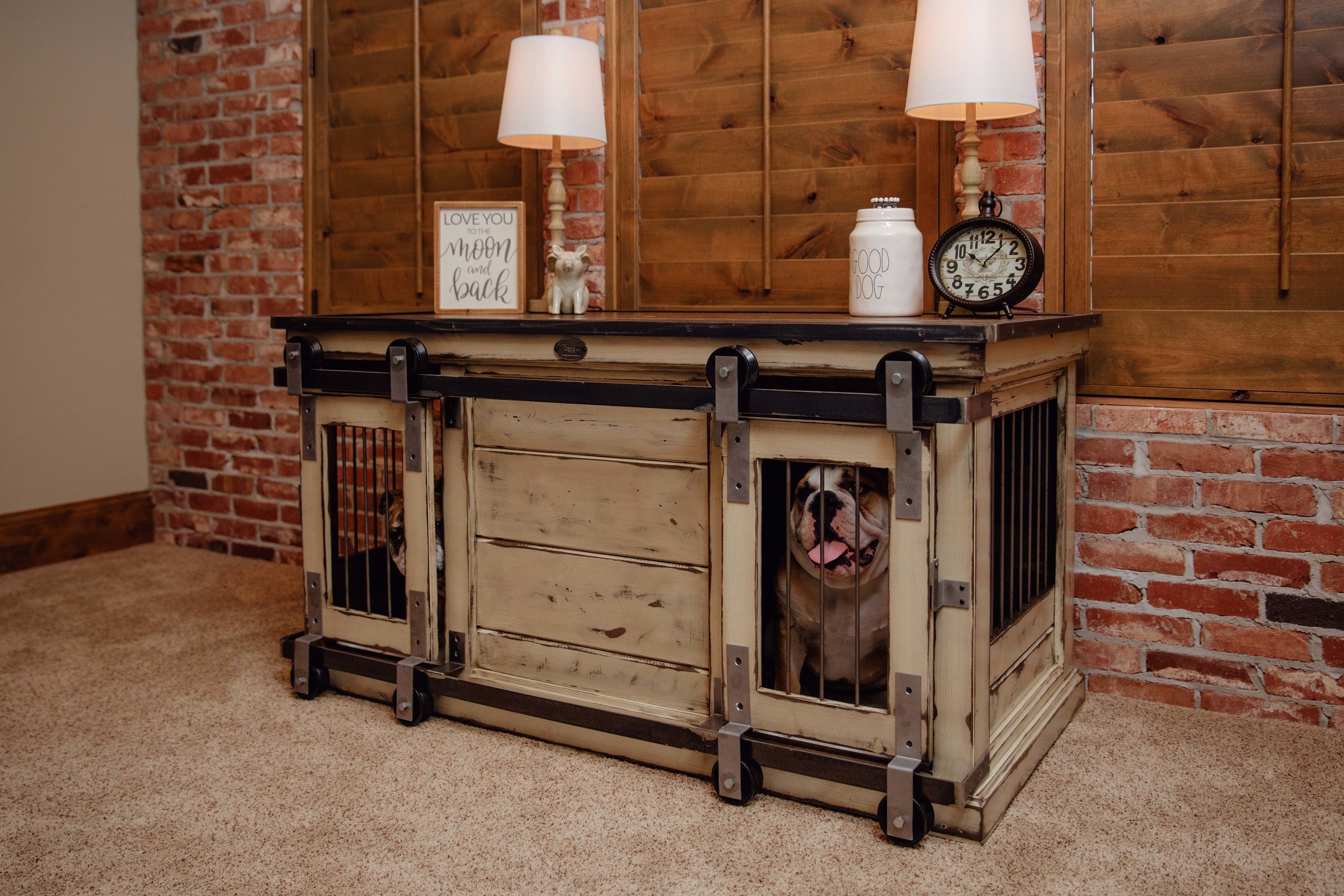 size like room end topper home full large act dog living wooden plans table furniture crate and of
