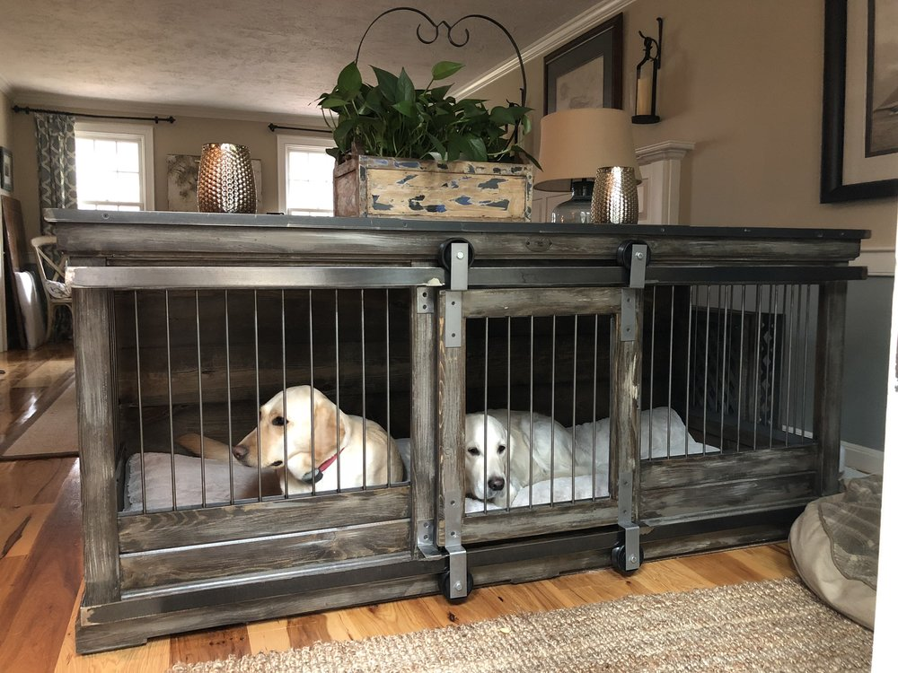 Gallery for designer dog kennels for Amazing dog kennels