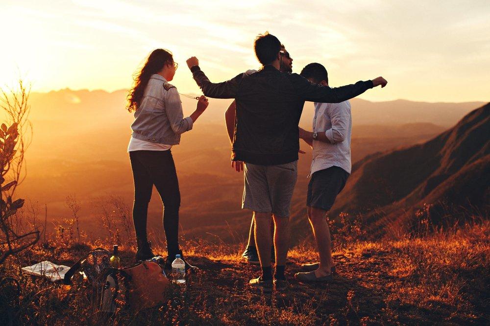 socializing on mountain.jpeg