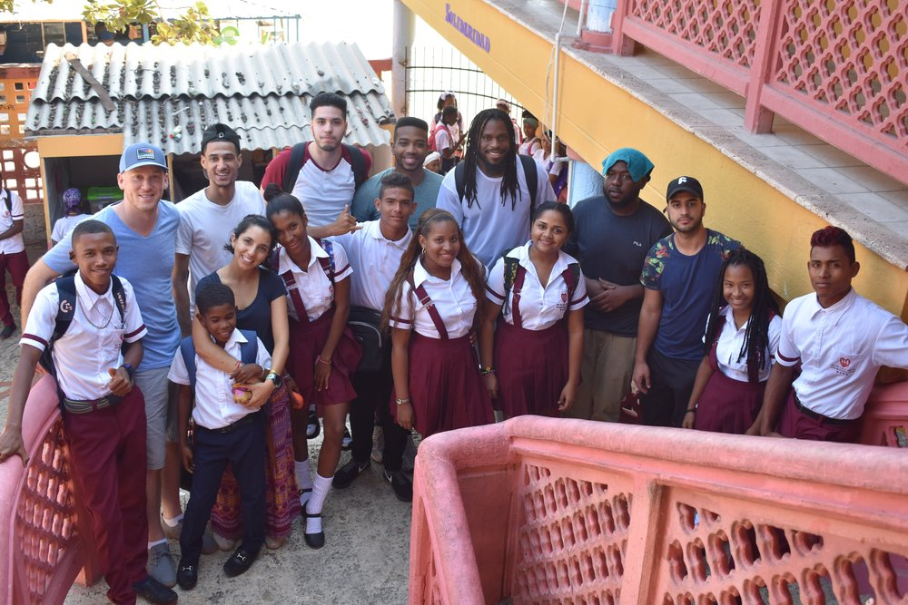 Study and service,Colombia - February, 2018