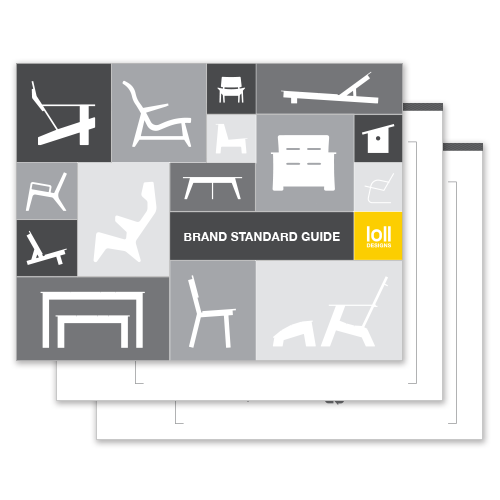 Brand Standard Guide - For correct use of Loll Designs logos and branding elements please reference our guide.