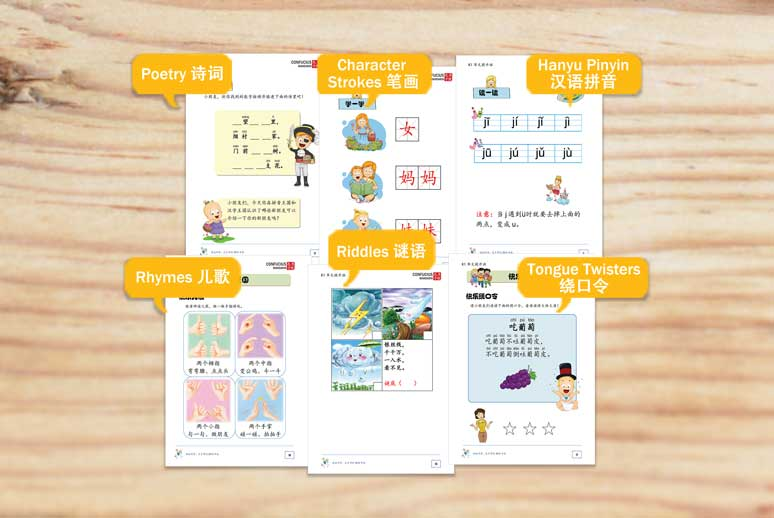 Quality worksheets as materials for Preschool students