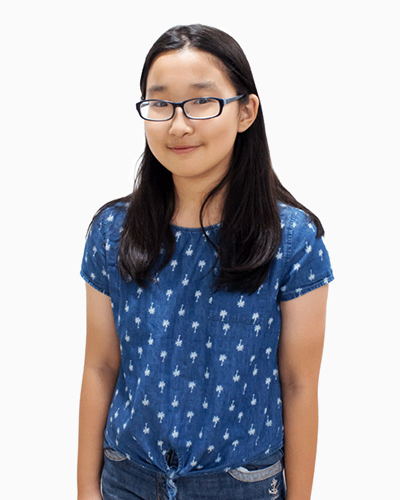 Nina Zhou scored A* in Chinese PSLE 2017