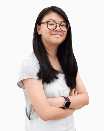 Amber Chua scored A* in Chinese PSLE 2017