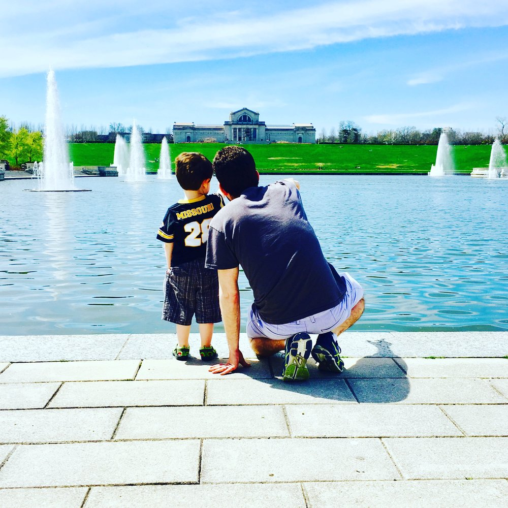 @ethsterling : Day in the park with @jsmith2382 #eliotpennick #forestparkstl #grandbasin
