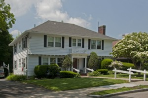 Our first home in West Newton
