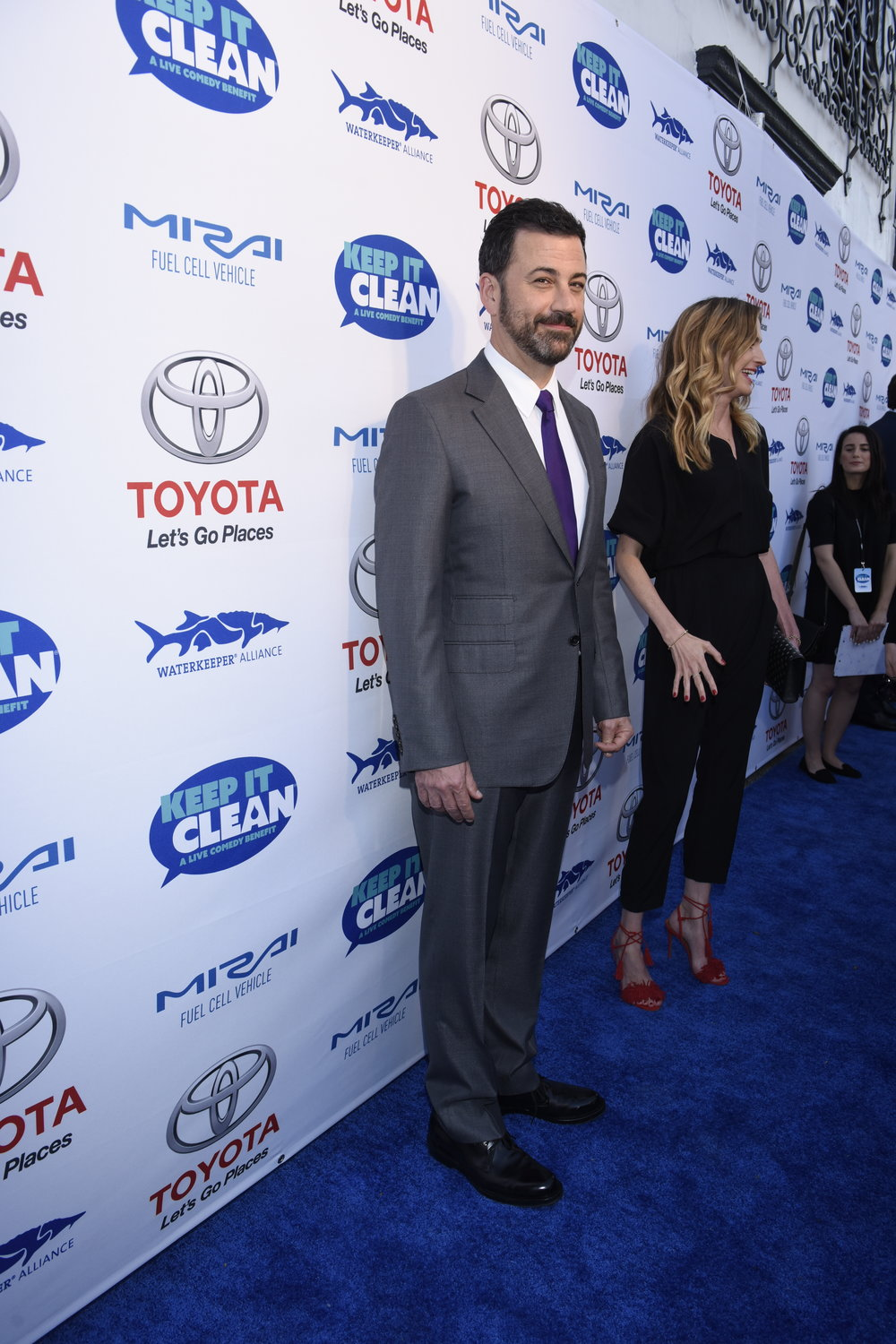 Waterkeeper-Jimmy-Kimmel-red-carpet-comedy-show.JPG