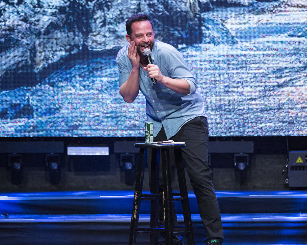 Nick Kroll performs at the Waterkeeper Keep it Clean Comedy Benefit