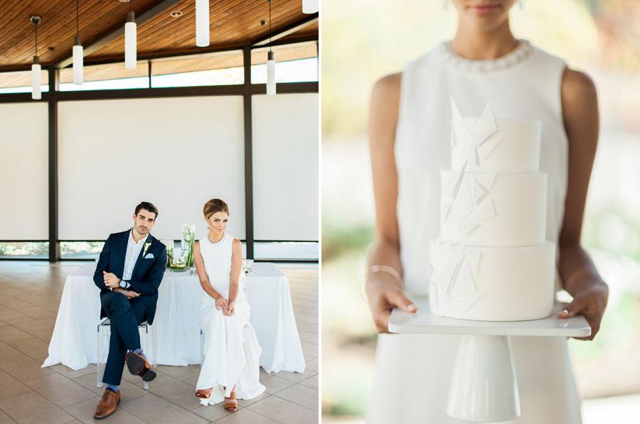 Modern Minimalist Wedding -