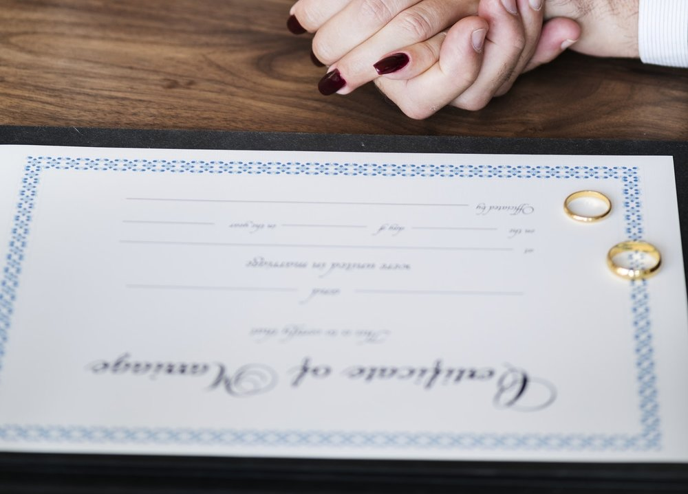 What should a couple consider when searching for their celebrant? -