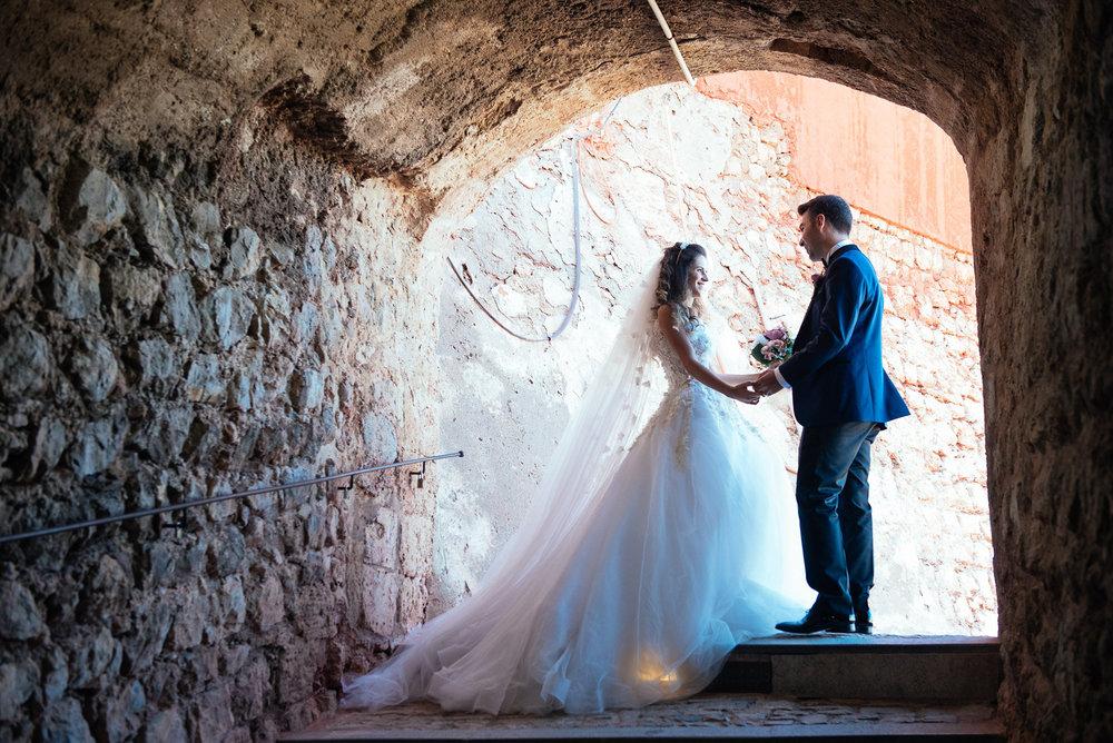 Ibiza town wedding photo