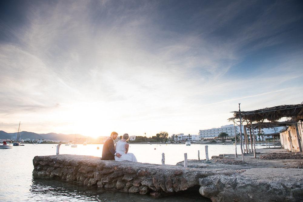 Wedding photo spots on Ibiza