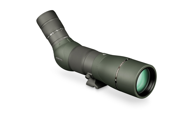VORTEX RAZOR® HD 22-48X65 SPOTTING SCOPE - Premium HD glass lens elementsAdvanced optical elements eliminate aberrations for distortion-free, flat field images with unmatched edge-to-edge sharpness, remarkable clarity, resolution, and color accuracyFully multi-coated with XR coatings to yield maximum light transmission—an extremely critical attribute when finding and evaluating game in low light