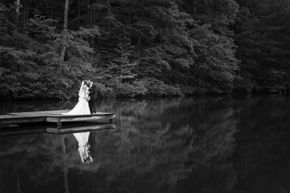 wedding at the woods - There's no more beautiful place to have your wedding day than on the lake at Johnston Woods. With the beautiful wooded landscape as your backdrop, you surely won't be disappointed tying the knot and beginning your adventure at Johnston Woods.
