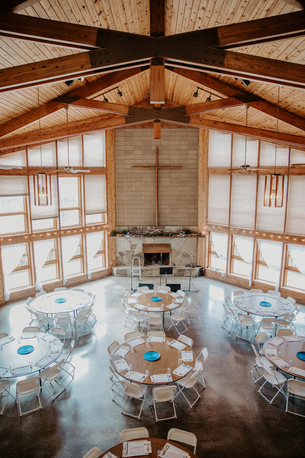 CEREMONY AT THE HURT LODGE    -Packages-    Peak Season (May - October)  Two Day Wedding Weekend:  $2,500    Non-Peak Season (November - April)  two day wedding weekend:  $2,000    One Day Wedding (Available December - March)  Friday, Saturday, or Sunday* -  $1,250   *Sunday available after 10:30 am      -Occupancy-    Indoor Dining Room Only:   Full Table Seating:  150   Combination Seated / Standing :  175     Indoor Dining Room & Outdoor Deck:   Full Table Seating:  225   Combination Seated / Standing :  250   *Indoor tables and chairs provided by the venue Seat 125*     -Food and Catering-   At Johnston Woods you are welcome to use our in house catering for convenient, cost effective options, or for $150 you can bring in the caterer of your choice. Please remember, Johnston Woods is an alcohol free venue.     -Hours-   We hope you fully utilize the many benefits your rental presents, so you are welcome to come and enjoy your event as early as 9 AM the day your reservation begins and stay as late at 11:30 PM the day your reservation ends.  (Any removal of decorations or cleaning must be completed by 12am the last night of your rental)