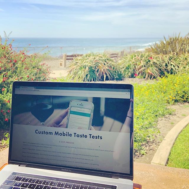 Website updates with a view #TasteEndeavors