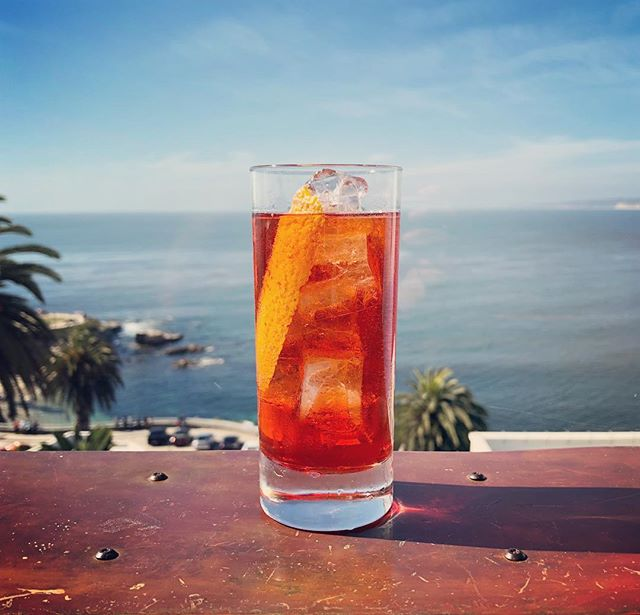 Midday negroni spritzer courtesy of @sjberto #TasteEndeavors