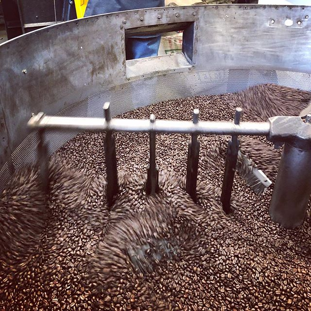 Thanks to @cafemoto for the behind the beans tour!  #TasteEndeavors