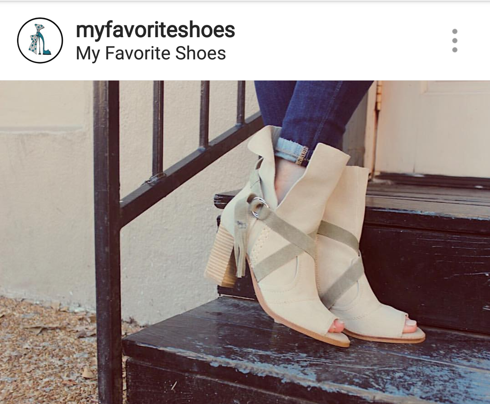 PHOTO COURTESY OF @MYFAVORITESHOES